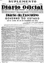 Publicação da Lei que criou o Município Indiaporã