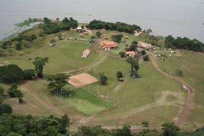 Balneário Municipal em Indiaporã (SP).