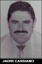 Jadir Cassiano (Jadirão) exerceu o cargo de vereador na 10ª Legislatura 1993/1996 - Câmara Municipal de Indiaporã (SP)