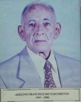 Adelino Francisco do Nascimento ex-presidente da Associação Antialcoólica de Indiaporã: 1985-1986