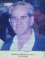 Aderito Ferreira da Silva fundador da Associação antialcoólica de Indiaporã