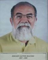Edilson Santos Macedo ex-presidente da Associação Antialcoólica de Indiaporã: 1997-1999 e 2009-2011.