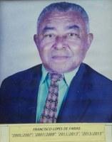 Francisco Lopes de Farias ex-presidente da Associação Antialcoólica de Indiaporã: 2005-2007, 2007-2009, 2011-2013 e 2013-2015.