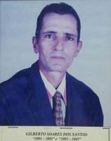 Gilberto Soares dos Santos ex-presidente da Associação Antialcoólica de Indiaporã: 2001-2003 e 2003-2005.