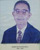Mário de Matos Rosa ex-presidente da Associação Antialcoólica de Indiaporã 1991-1997